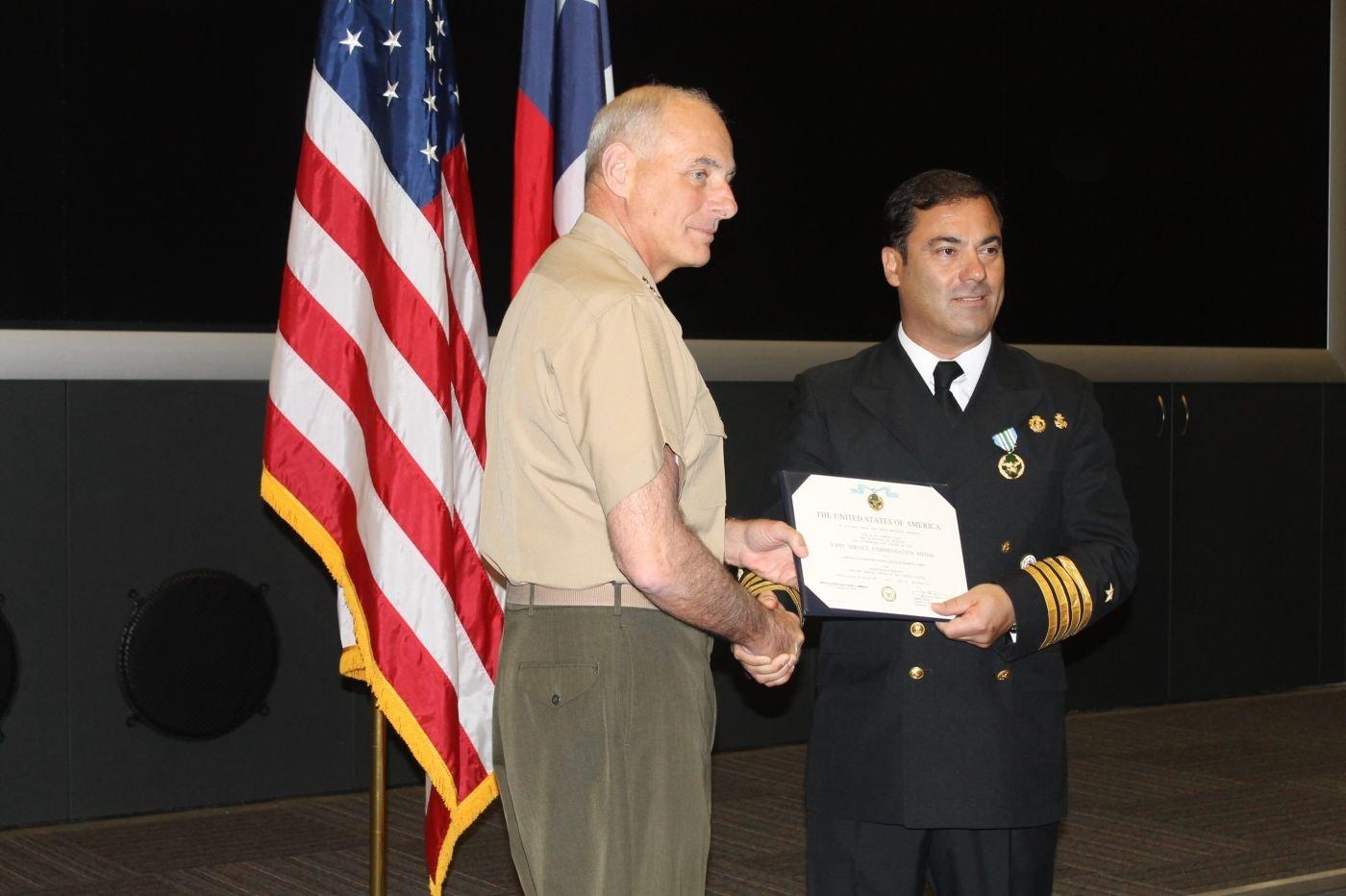SOUTHCOM Honors Chilean Marine Captain