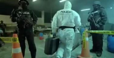Ecuadorian National Police open new lab to combat Sinaloa Cartel and Los Rastrojos