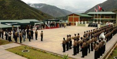 Peruvian police recruits train in modern academy to fight organized crime