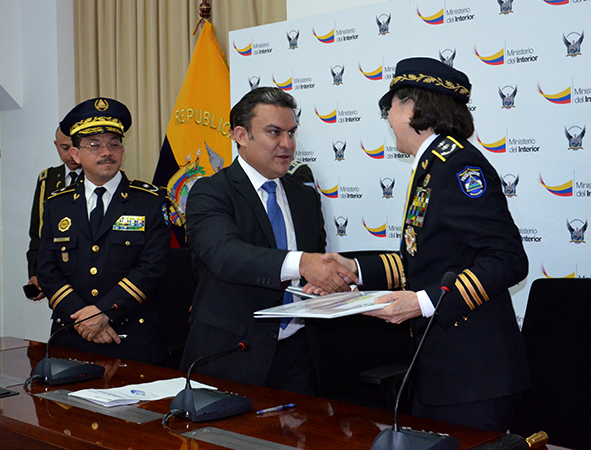 Nicaraguan and Ecuadorean police cooperate to fight organized crime