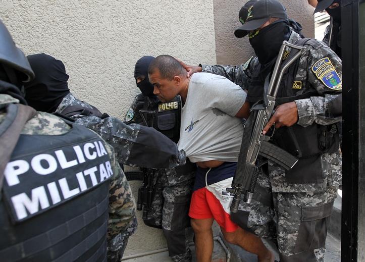 'El Negro,' Carlos Arnoldo Lobo Alemán, captured by Honduran Police