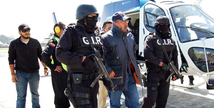 Ecuadorean National Police fight organize crime kidnappings