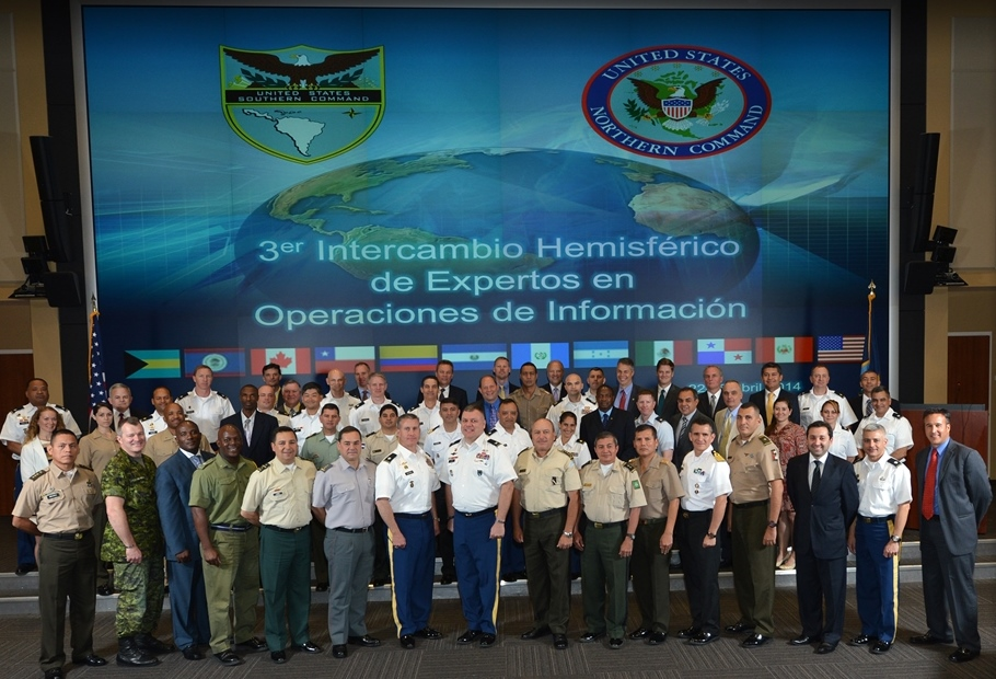 Twelve countries gather at Southcom to discuss Information Operations tactics