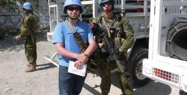 Canadian Troops Operate Under Brazilian Command in Haiti