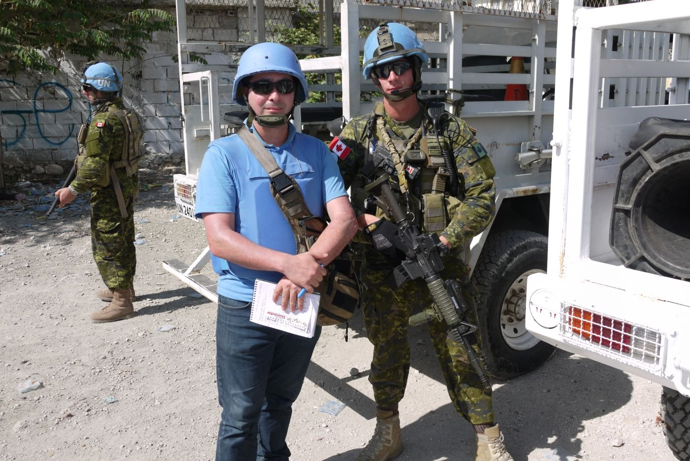 Canadian Troops Operate Under Brazilian Command in Haiti