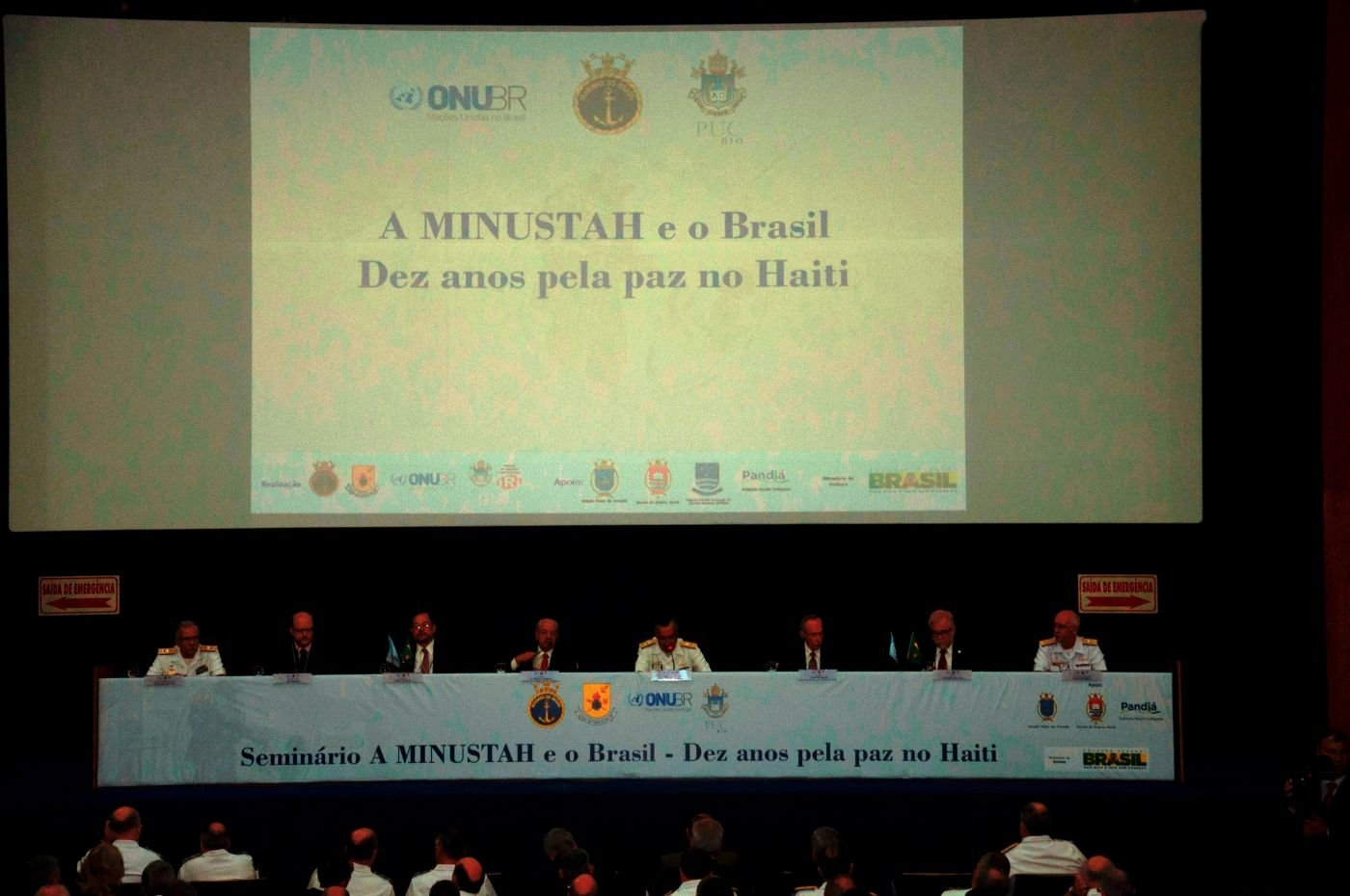 "Seminar ""The MINUSTAH and Brazil – Ten Years for Peace in Haiti"""