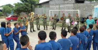 The Colombian Army Launches 'Fridays of Colors,' Providing Health Care And Other Services to Children