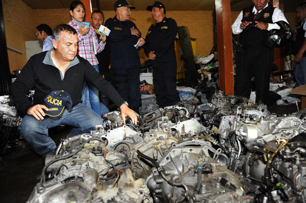 Peruvian National Police dismantle Los Malditos del Triunfo