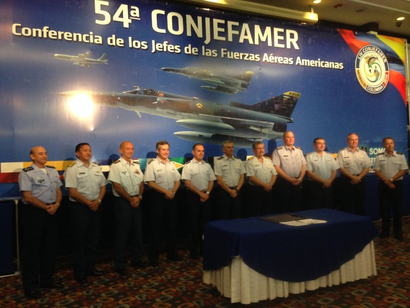 Latin American Air Forces Strengthen Cooperation to Fight Organized Crime