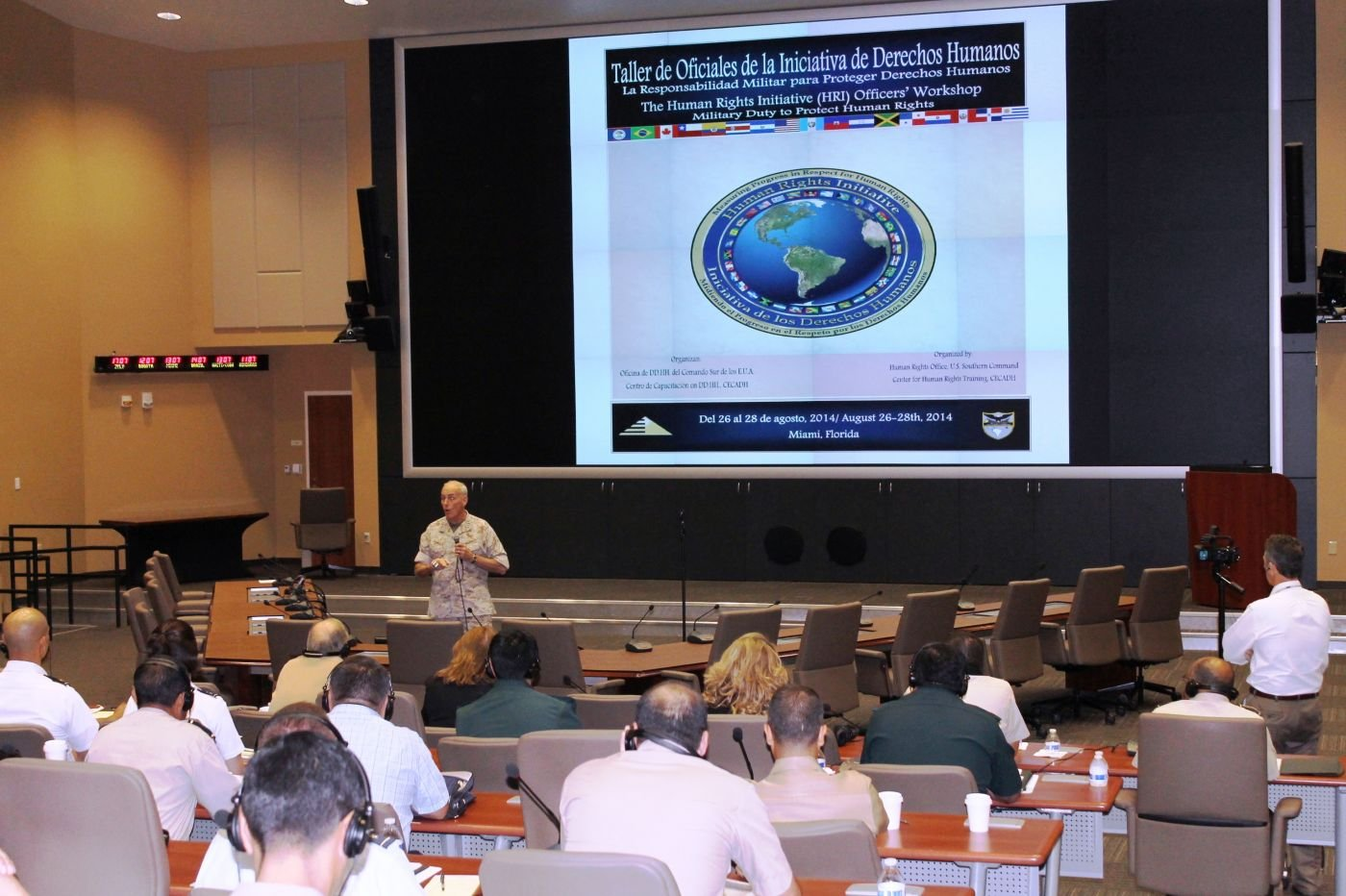Military's Duty to Protect Human Rights Discussed at SOUTHCOM