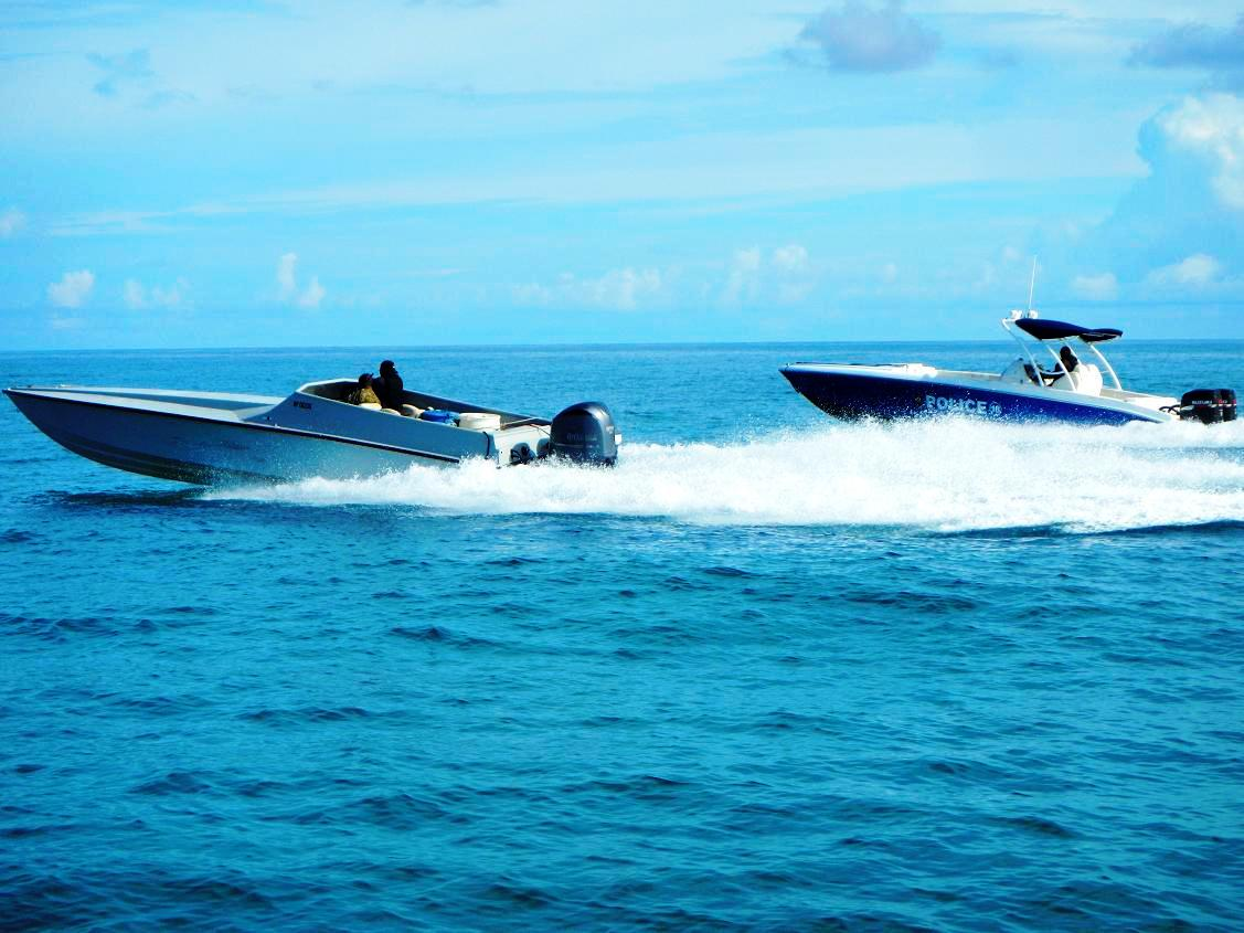The Picuda: A Wave-Breaking Go-Fast Wonder that Defies Radar Detection