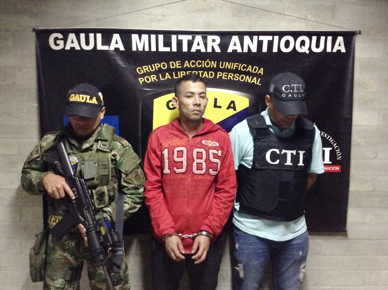 Colombian National Army captures alleged FARC extortionists
