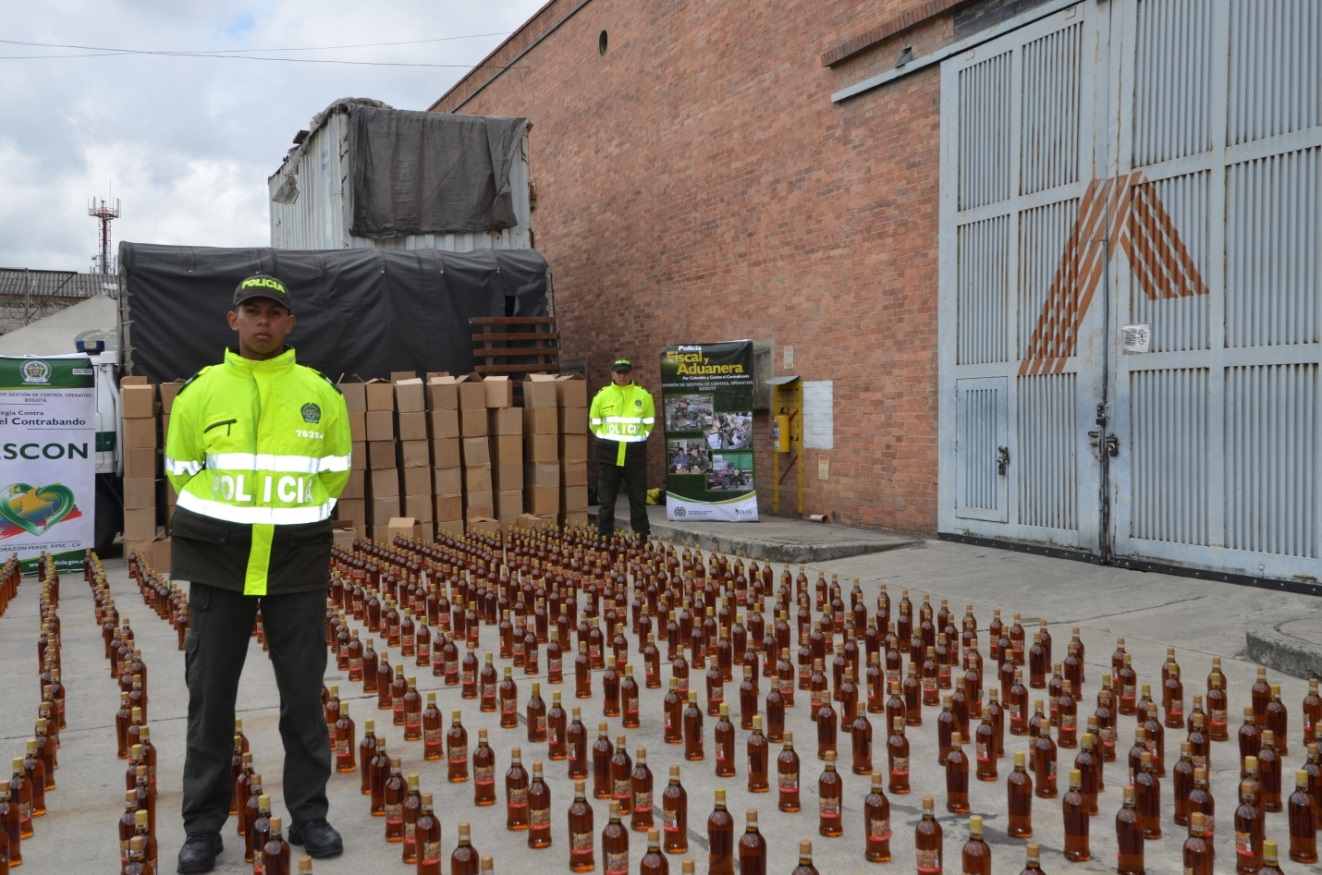 Latin American security forces crack down on smuggling of alcohol and cigarettes