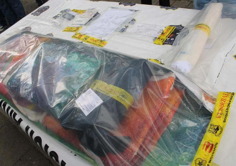 Salvadoran anti-narcotics police foil drug trafficking schemes