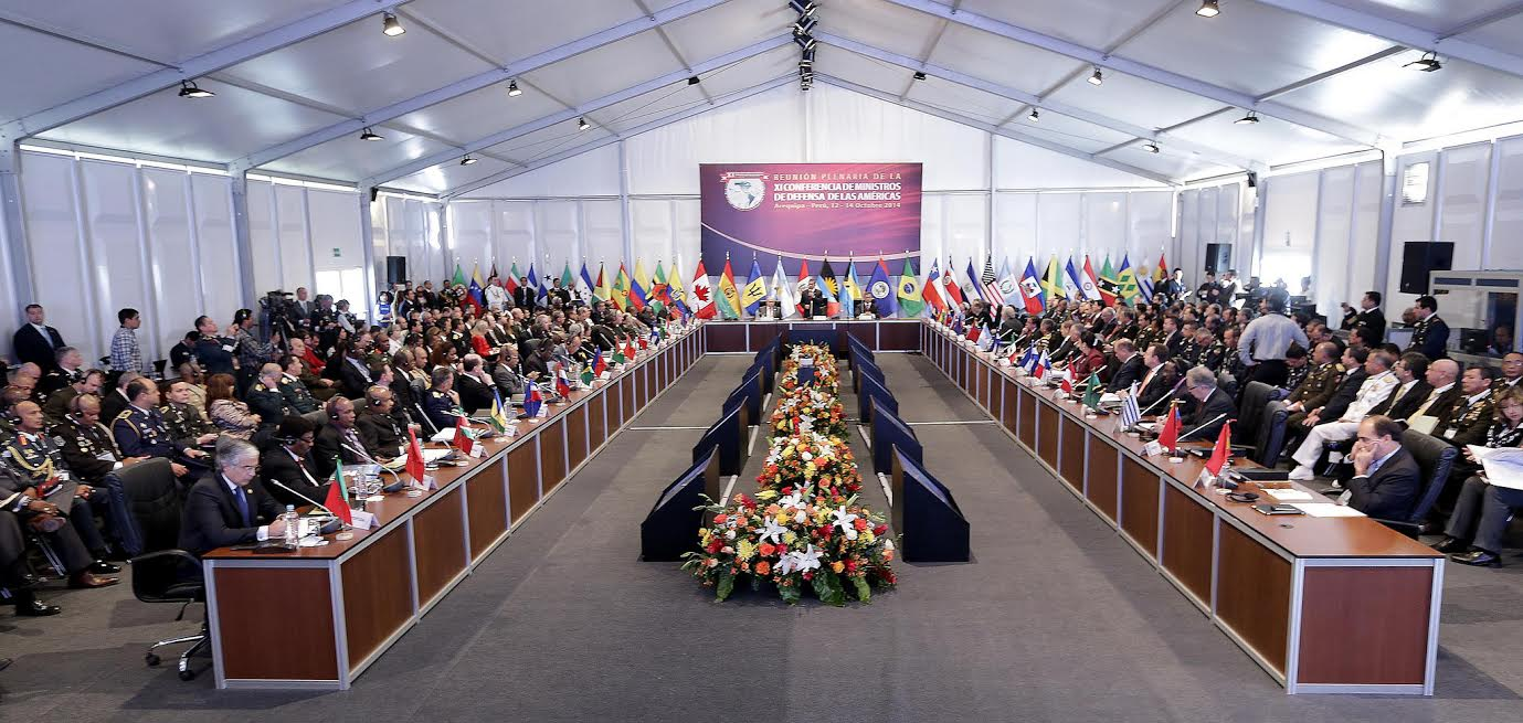 Defense Ministers in the Americas strengthen cooperation on security issues