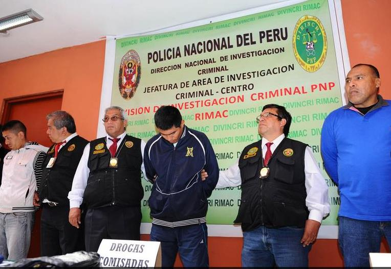 Peruvian police act quickly to capture robbery gang suspects
