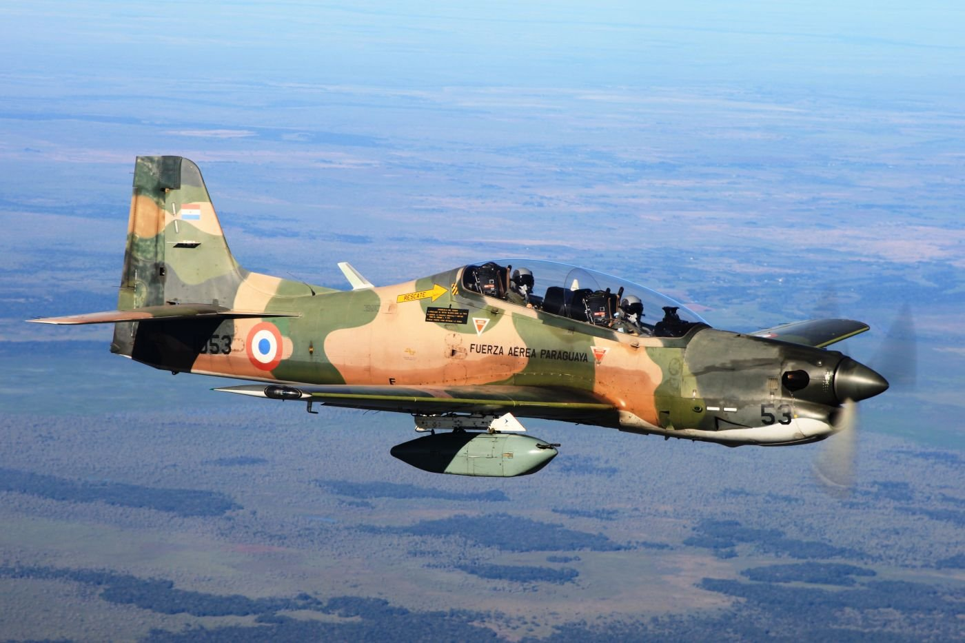 Paraguay looks to modernize its fighter planes to face new threats