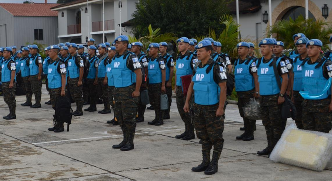 Guatemalan military police arrive in Haiti to participate in MINUSTAH