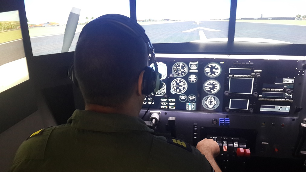 Sophisticated flight simulator helps Costa Rican SVA pilots fight organized crime