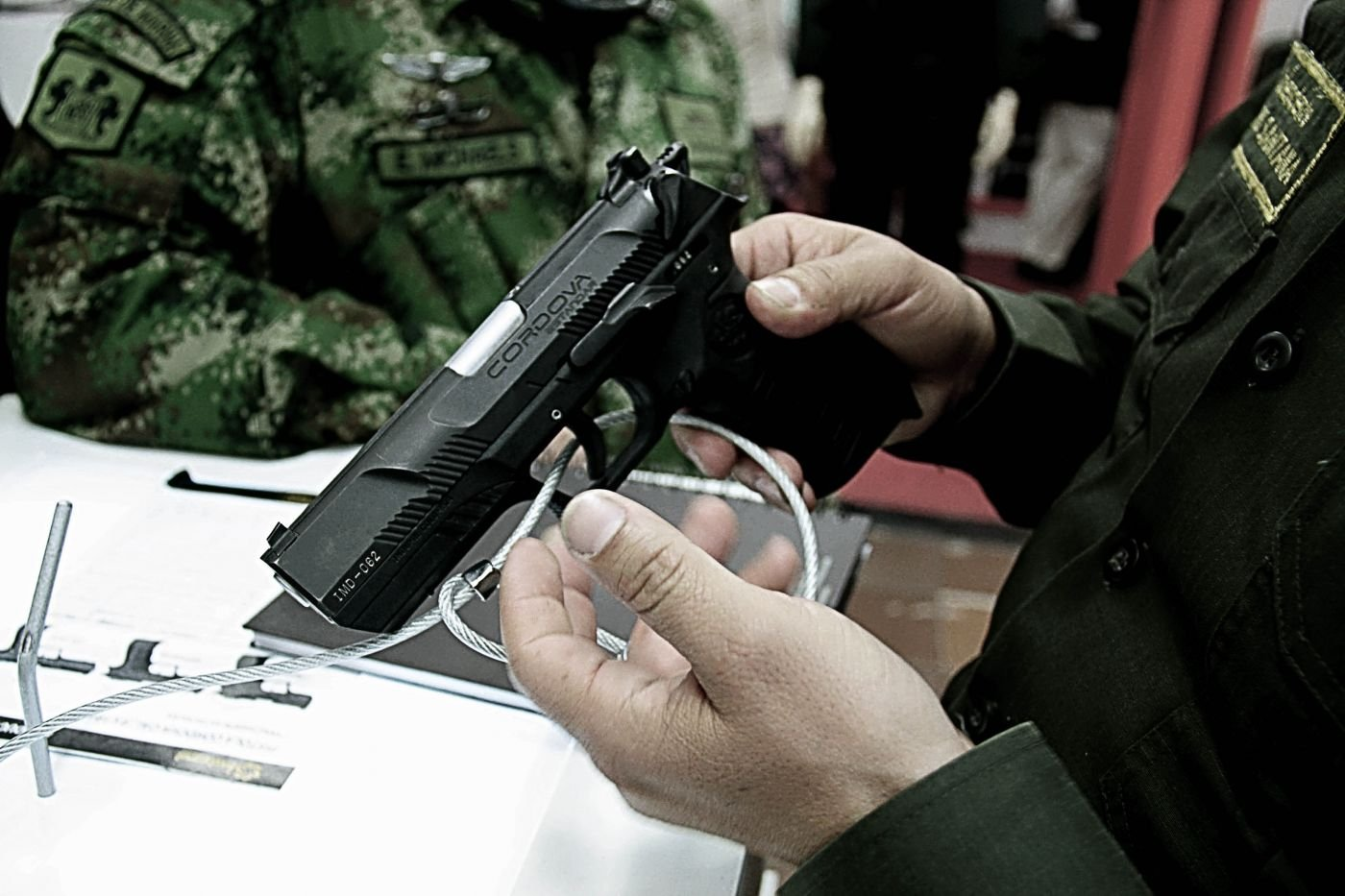 'Córdova', the post-conflict weapon in Colombia