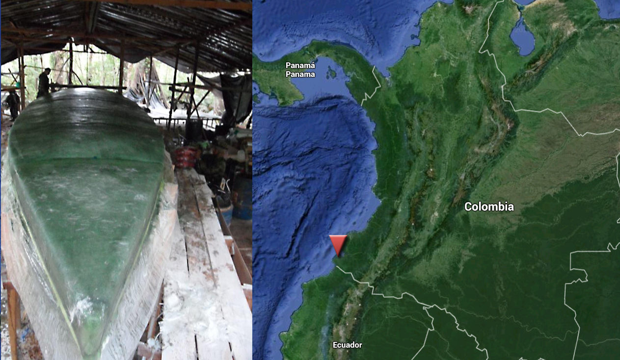 The Colombian Navy Captures an Alleged FARC Semisubmersible