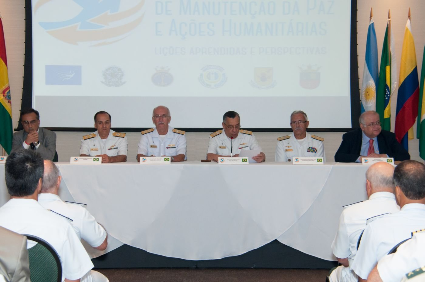 Seminar Discusses Brazilian Armed Forces' Participation in UN Peacekeeping Missions