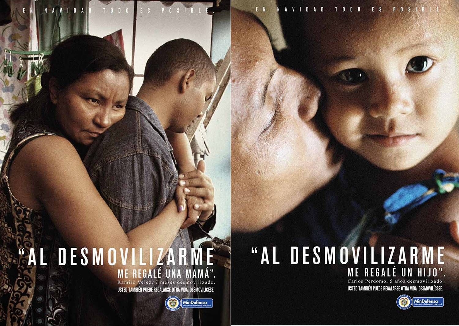 Colombian Demobilization Campaign Appeals to Giving at Christmas