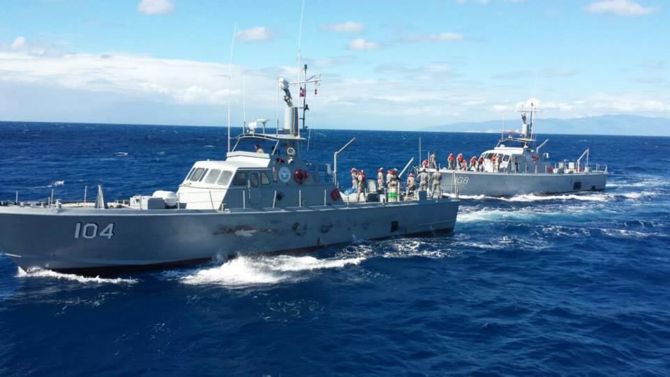 Dominican Republic Navy Midshipmen Receive Training on 'Maestro del Mar 2014'