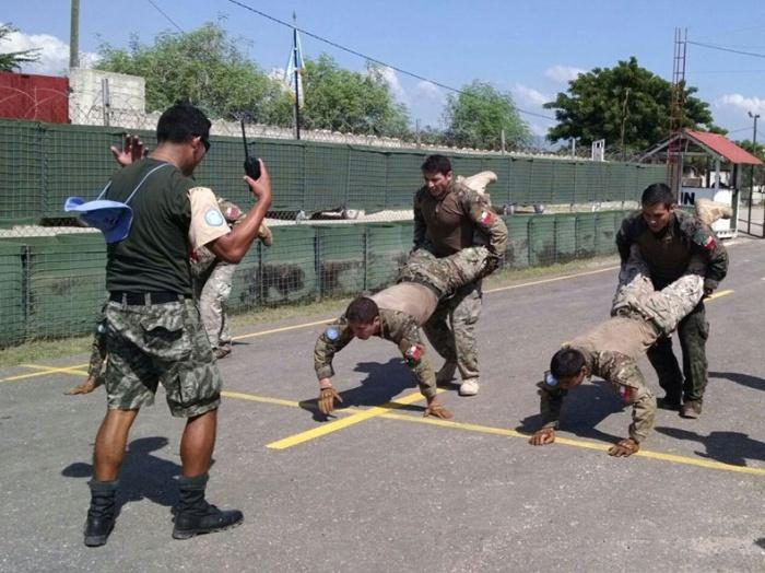 MINUSTAH's Chile Battalion Wins the Peacekeeper Challenge in Haiti