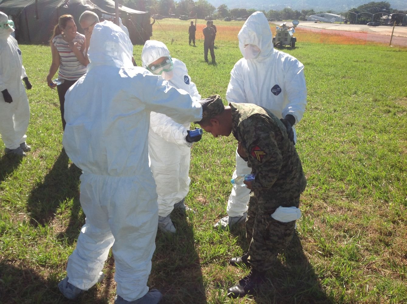Pre-Deployment Course on Ebola Preparedness Yields Positive Results in El Salvador and Uruguay