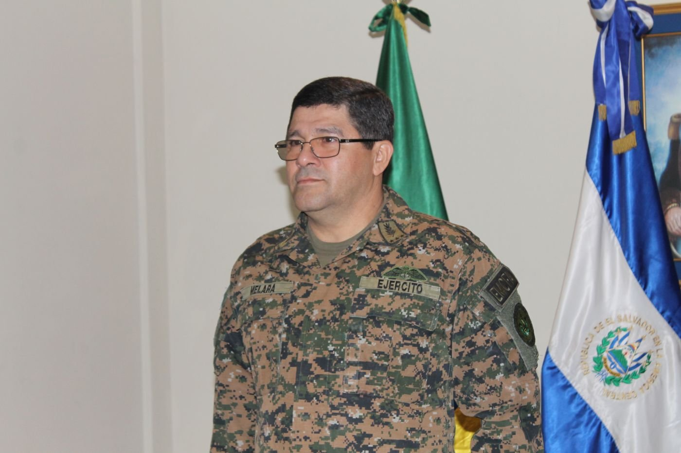 """General Rafael Melara, Chief of the Joint Staff of the Armed Forces of El Salvador: """"Transnational organized crime affects all of us equally"""""""