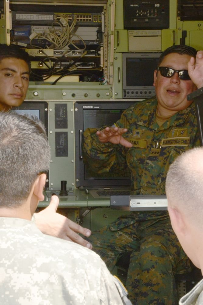 Chilean visit to Fort Hood sets framework for intelligence sharing