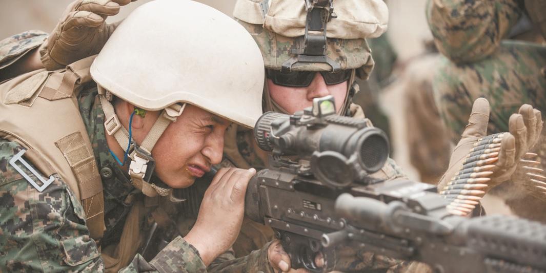 Marines Prep Peruvians to Combat Insurgents, Drug Cartels