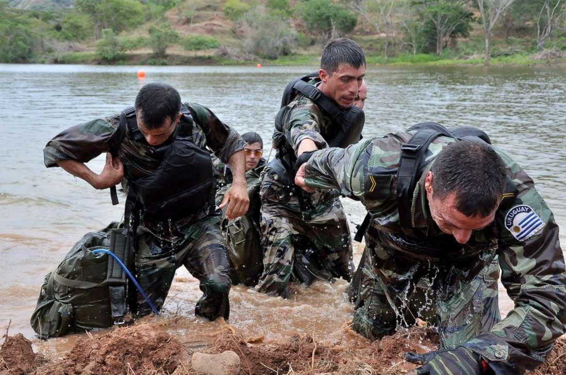 Colombian Military Trains Armed Forces throughout the World