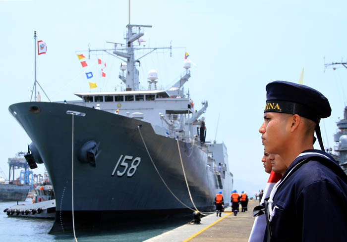The Peruvian Navy Improves its Capabilities with a New Logistics Support Vessel