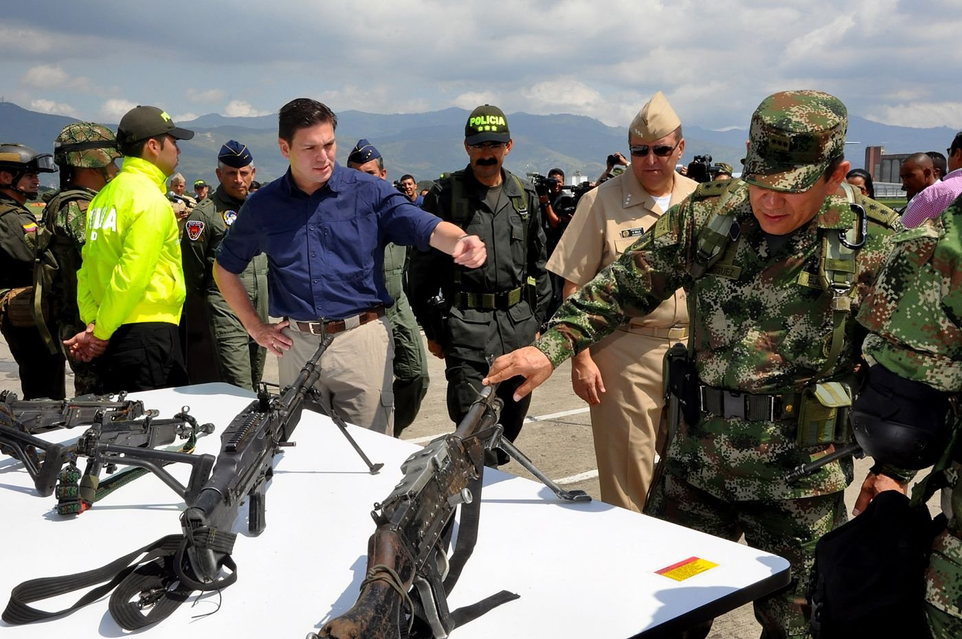 Colombia's Military, National Police, and Judiciary Improve Public Safety