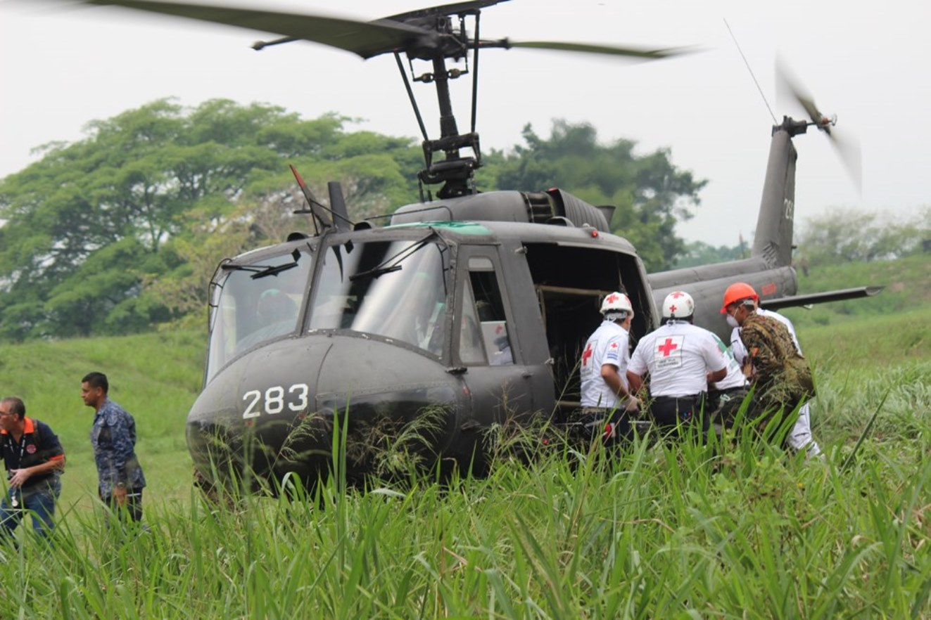El Salvador's Humanitarian Rescue Unit Aids Disaster Victims