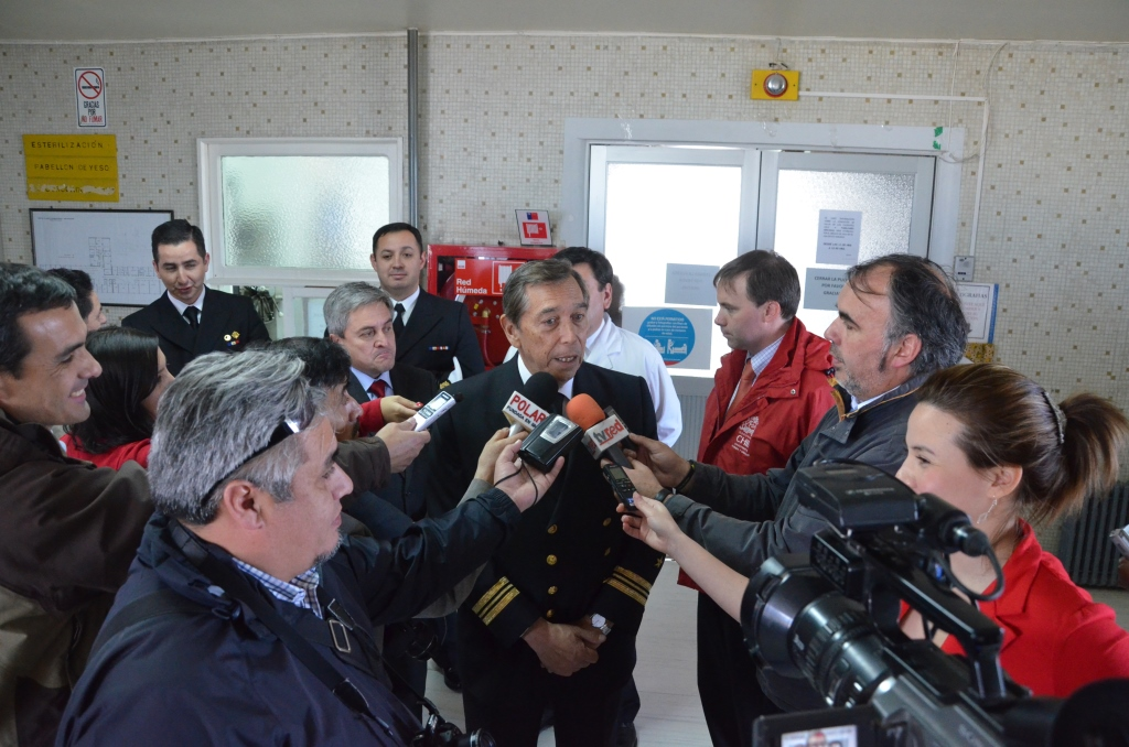Chilean Navy and Non-Profit Provide Medical Care to Thousands