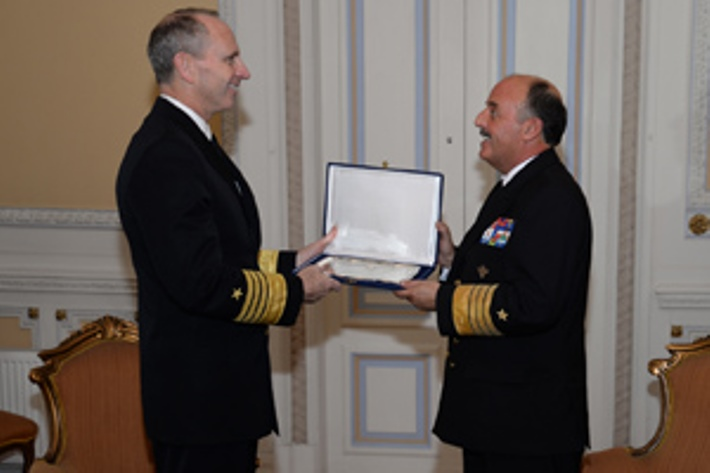 U.S. Chief of Naval Operations Admiral Jonathan W. Greenert Visits Chilean and Peruvian Navies