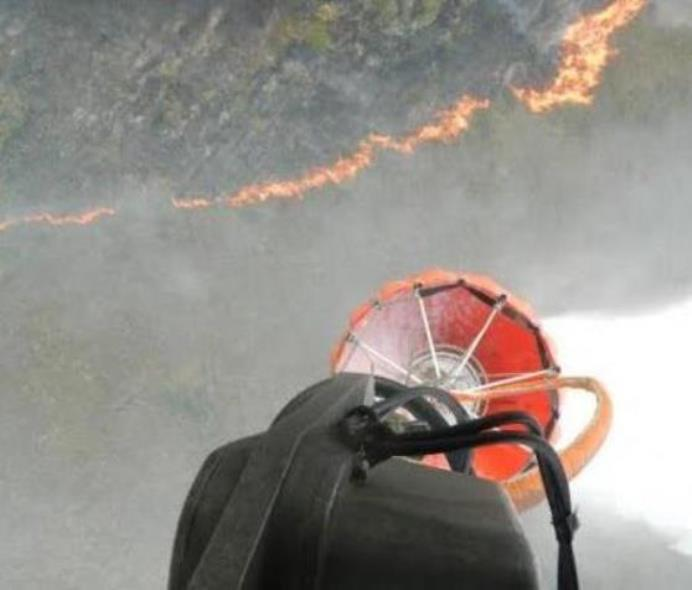 Colombian Air Force Helps Fight Forest Fires