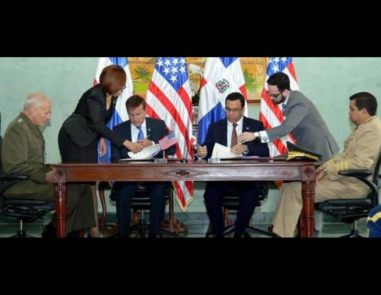 Dominican Republic and United States Sign Military Training Agreement