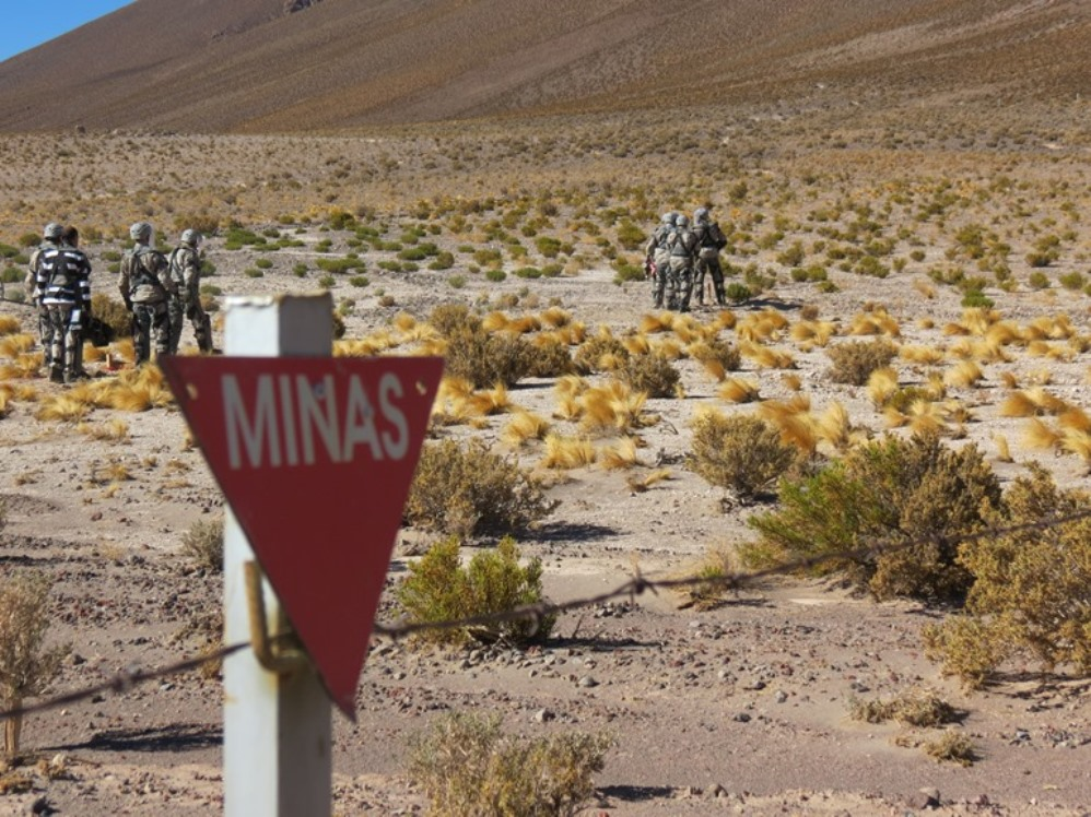 Chilean Army and Navy Complete Majority of Humanitarian Demining Plan