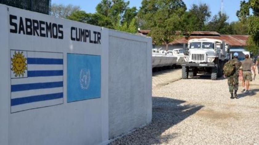 Uruguayan Troops Close Military Base in Haiti