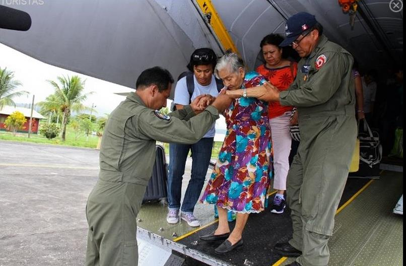 Peruvian Air Force Rescues Thousands of Civilians from Heavy Rains, Landslides