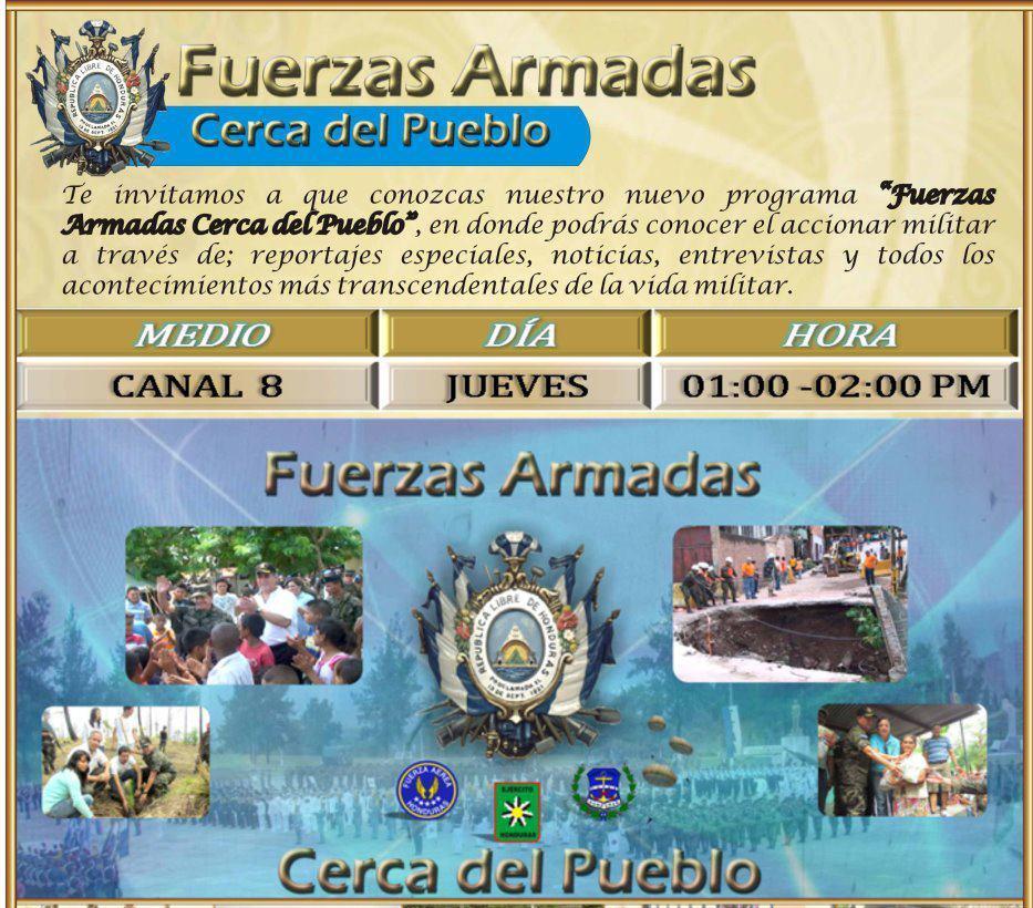 Honduran Armed Forces Broadcast Is a Pioneer in National Media