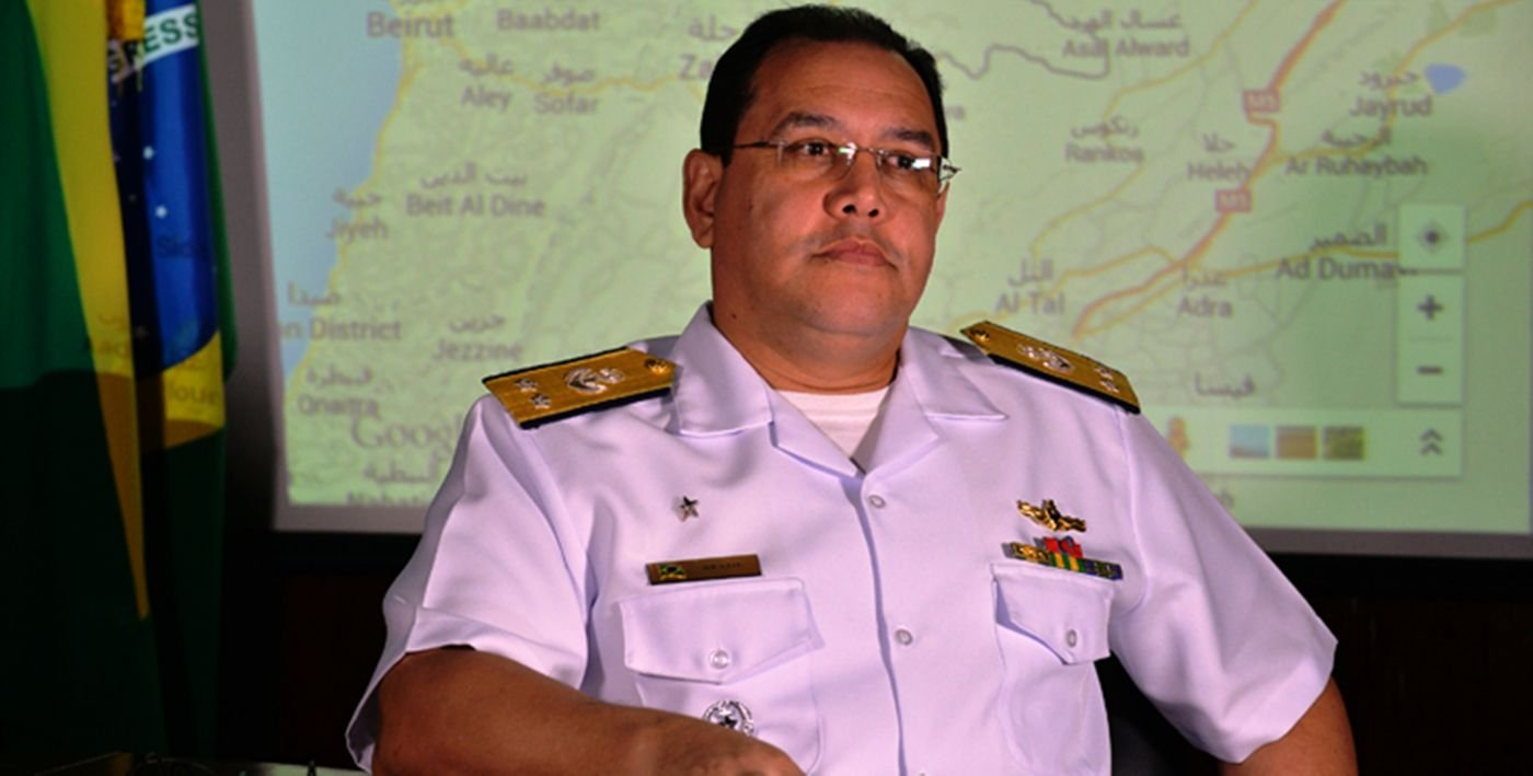Brazilian Admiral Assumes Command of UNIFIL's Maritime Task Force