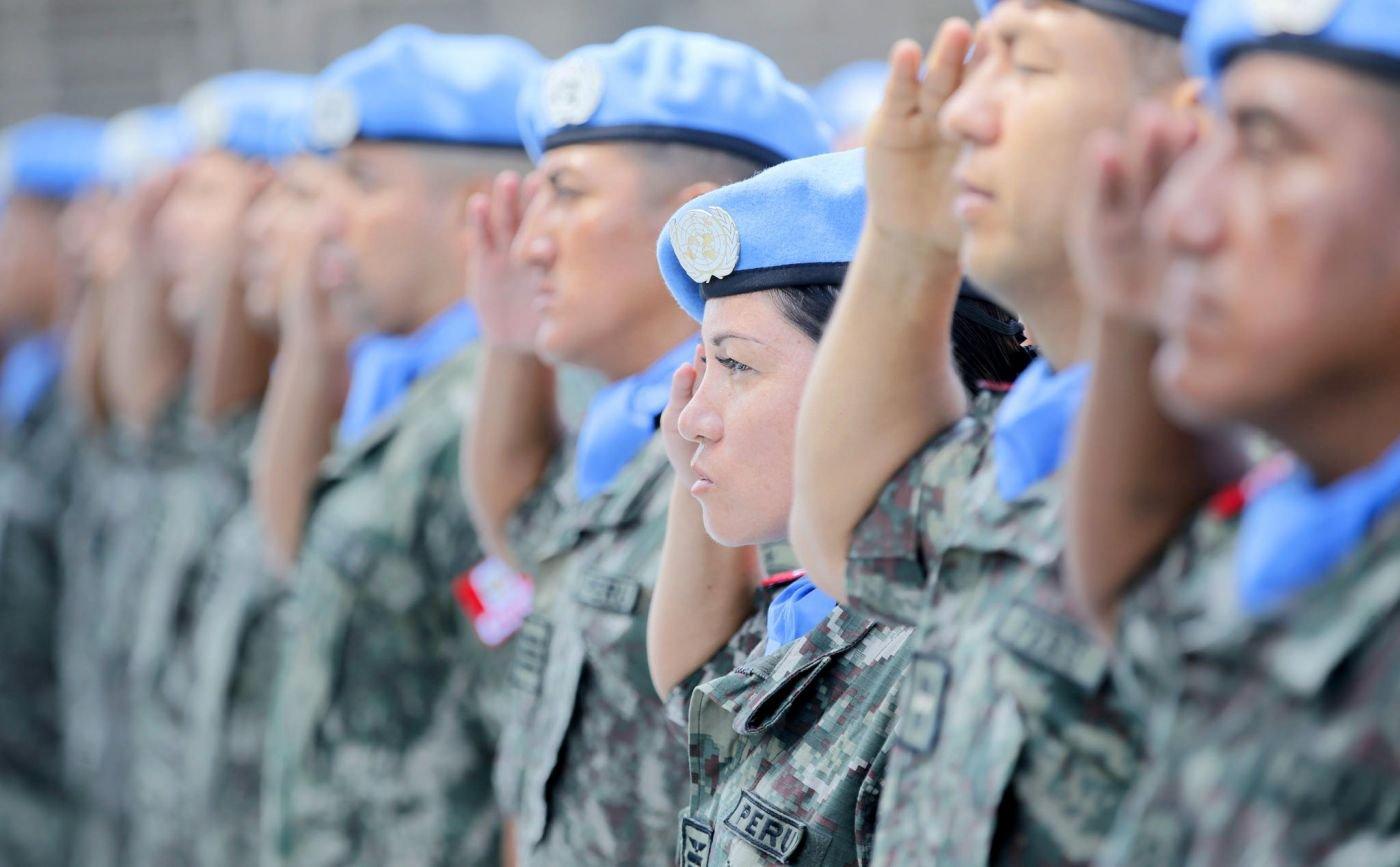 New Peruvian Military Contingent in MINUSTAH