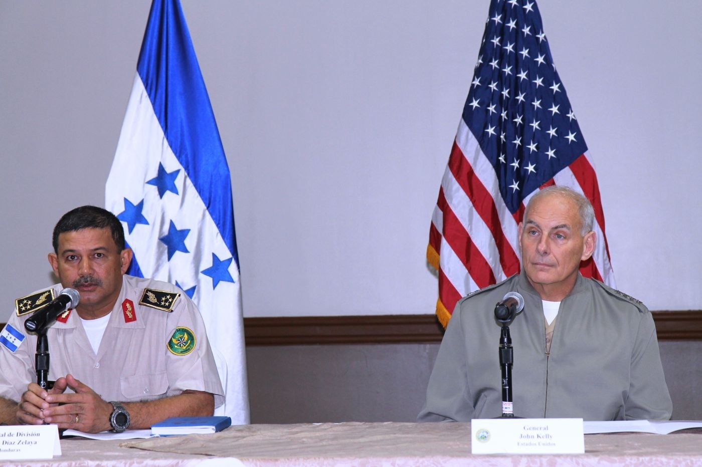 Military Leaders from Honduras and the U.S. Conclude CENTSEC in Tegucigalpa