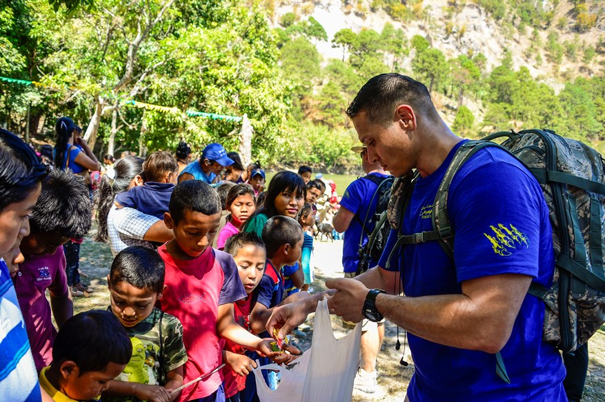 Joint Task Force-Bravo Assists Honduran Families in Remote Areas