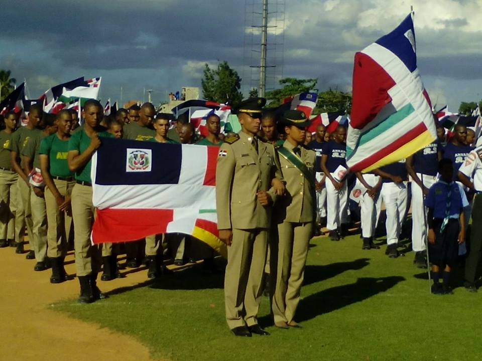 Dominican Republic Military and National Police Compete in Sporting Games